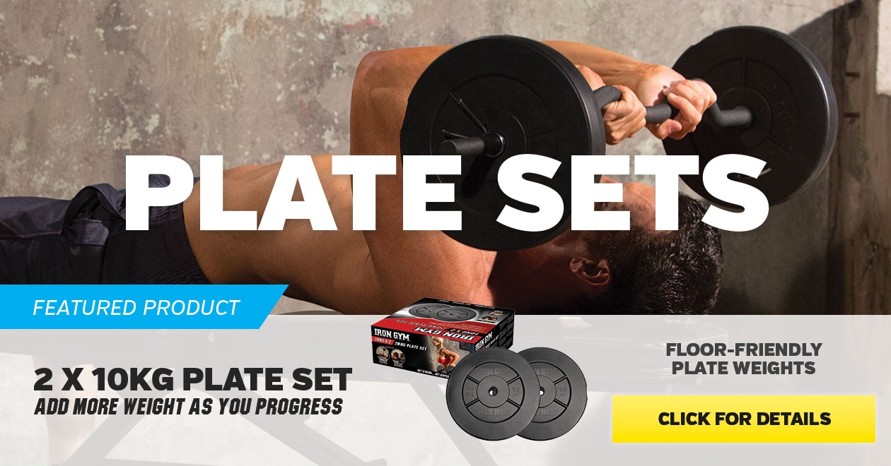 Featured product 2 x 10kg Plate Set  - Click for more